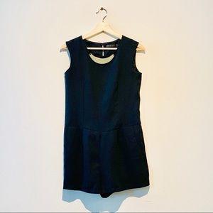 Black Zara romper jumpsuit